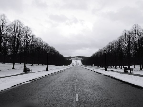 Architecture Government Building Northern Ireland Architecture Winter Outdoors Snow Stormont Estate
