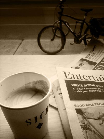 News and dark coffee at Club House News And Dark Coffee