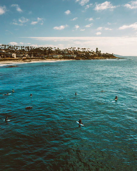 Aerial Shot California DJI Mavic Pro Drone  San Diego Surf Surfer Tranquility Aerial Beach Beauty In Nature Blue Day Dji Golden Hour Moody Nature Ocean Outdoors Sea Water Waves