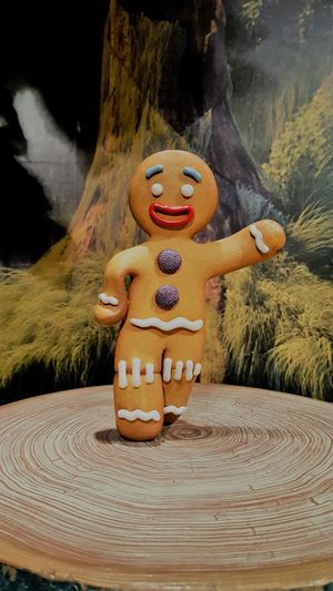 Christmastime Cookie Gingerbread Gingerbread Man Gingy Wood - Material