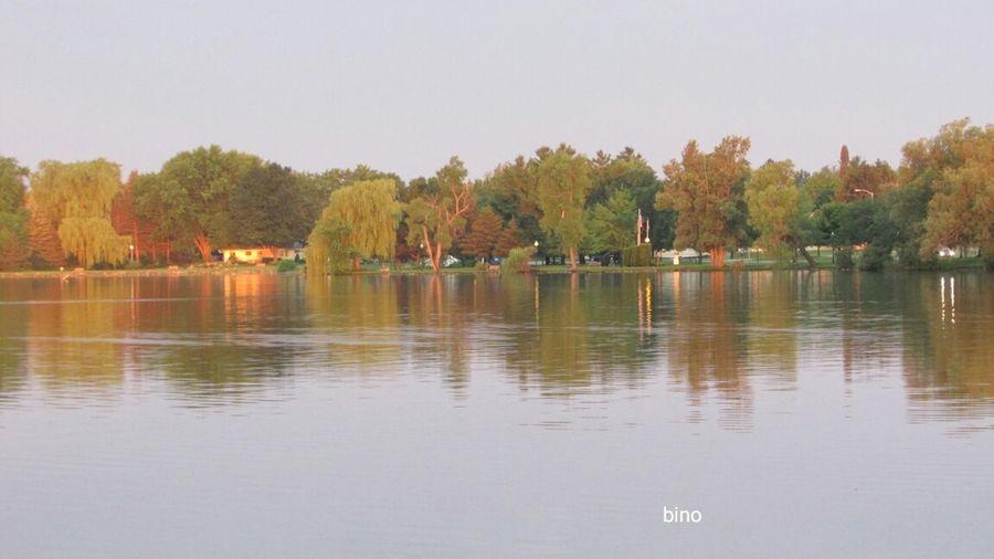 Out Early Alone At The Lake Dawn's Early Light. Beautiful Day Beautiful Sunshine Lake Cadillac Pure Michigan