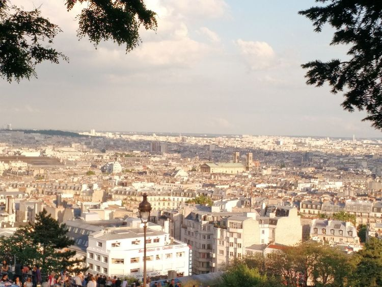 Cityscape City Business Finance And Industry Tree Urban Skyline Sky No People Outdoors Architecture Day Paris, France  Day City Views Paris, France  Architecture Cityscape City Peaking Through I Love Paris!