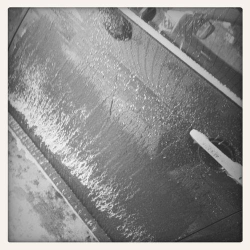 My Moms Frozen Car (: