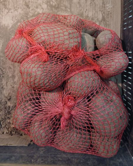 Last year potatoes Potatoes Potato Shop Food Net Bag Close-up