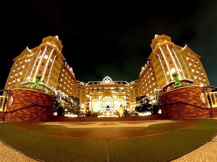 東京ディズニーリゾート 東京ディズニーランドホテル Disney Fisheye Theta