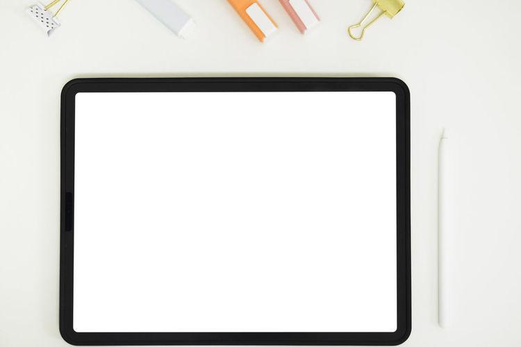White image of smart phone