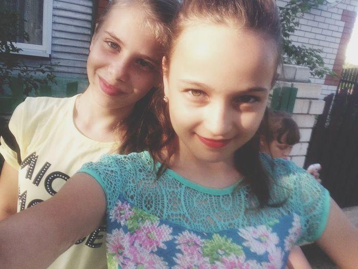 Я и Тоня Hi! First Eyeem Photo