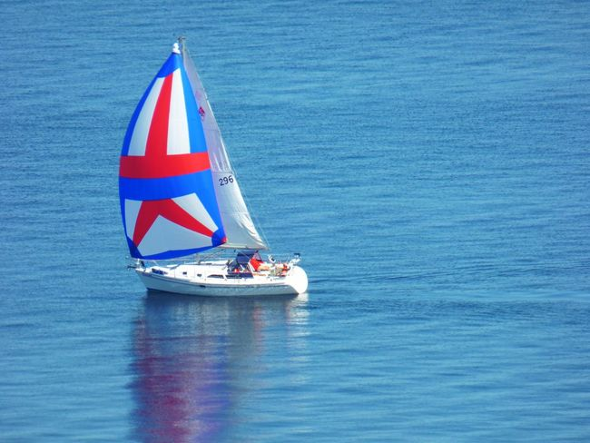 Beauty In Nature Day Nature Nautical Vessel Outdoors Real People Sailing Sea Transportation Water