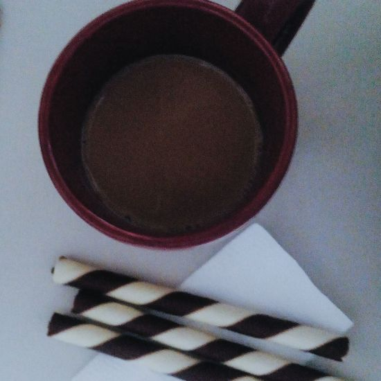 My perfect combo. Hello World Coffee Stick-o Breakfast