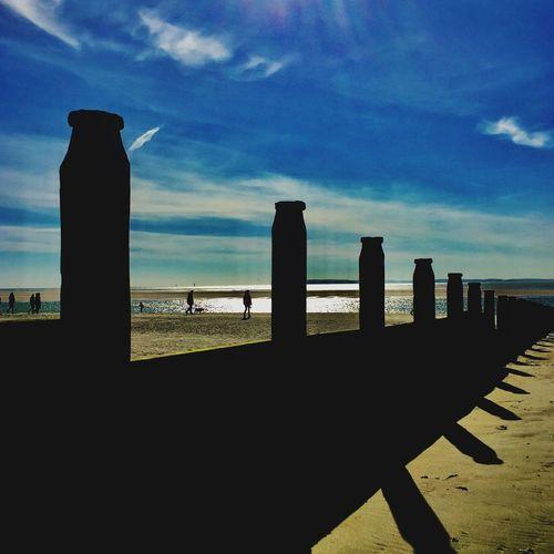 Sea Sky Beach Place Of Heart