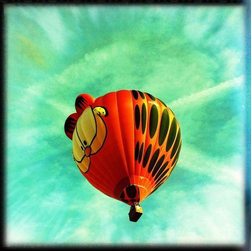 Luchtballon Ballonfiësta Barneveld Hipstamatic MattyALN Dylan