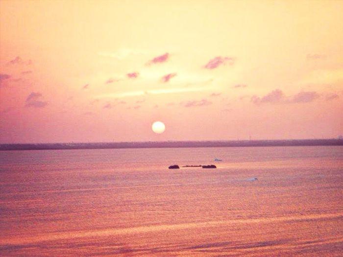 Beach Enjoying The Sun Sunset Paradise