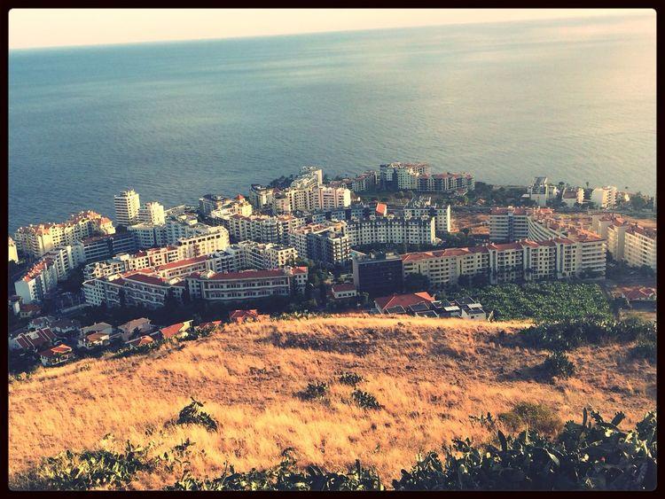 Landscape City Great Views Sea