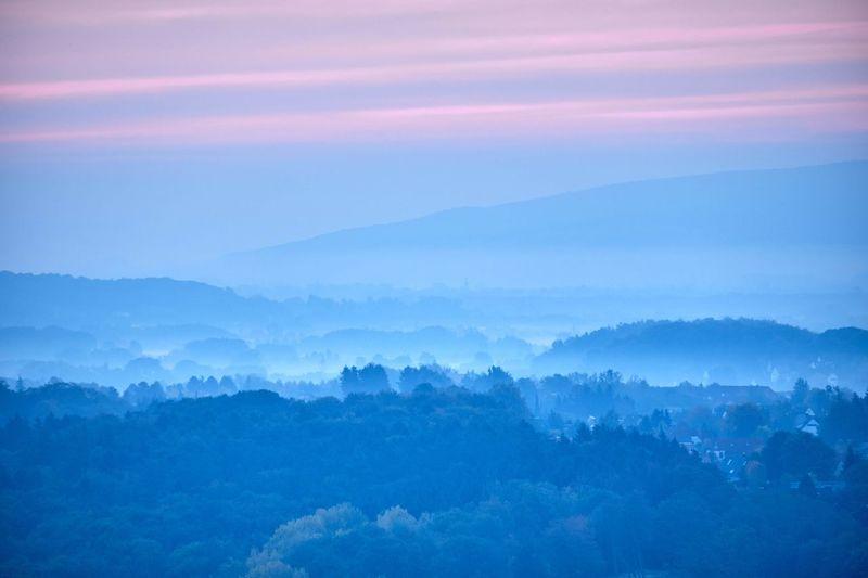 Nebel Landschaft