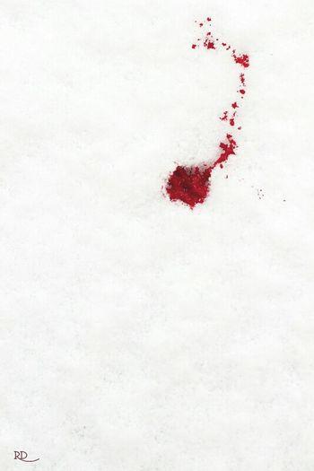 White Snow Neve Red Rosso Blood Sangue Hope Speranza