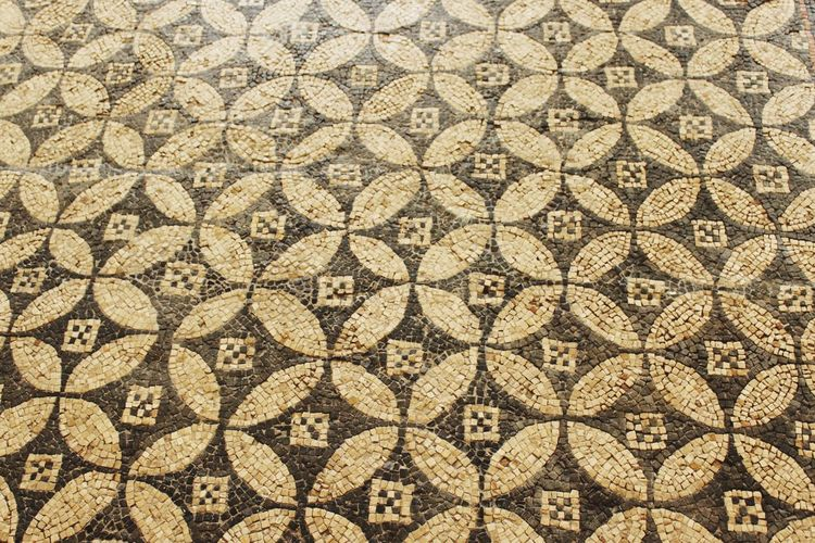 Patern Ancient Rome Ancient Civilization Ancient History Ancient Floor Eyemphotography Seamless Pattern Backgrounds Full Frame Textured  Pattern Design Close-up Geometry Floral Pattern Mosaic Geometric Shape