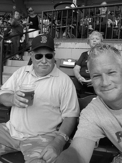 People Together Game Day! Enjoying LifePaw Sox Red Sox Nation EyeEm Gallery EyeEm Best Shots - People + Portrait + ⚾ EyeEm Best Shots - Black + White EyeEm Black And White Photography B&w Edit Baseball Rhode Island Photography⚓ S6