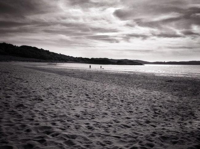 Beach Beachphotography Blackandwhite Sea And Sky Eye4black&white  IPS2015BW Gairloch Scotland IPhoneography
