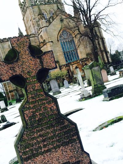 DunfermlineAbbey in the Snow ❄ First Eyeem Photo