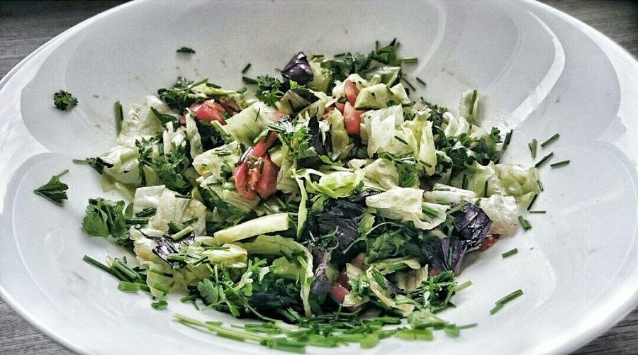 Greens Salad Fresh Veggies