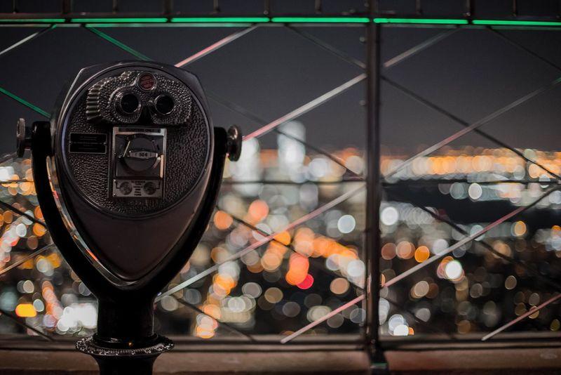 Illuminated Night New York New York City Manhattan Night Photography Night Lights Lights City City View  Vision