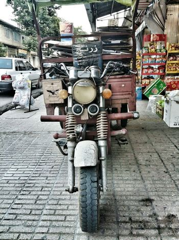 Old Old Motorcycle Old Life Old Streets Engine Old Man HDR Memories Time Pass