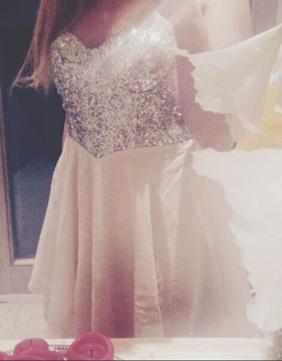 My Dress ♥ White Dress Outfit That's Me Girl SelfieInMirror New Dress! Fashion