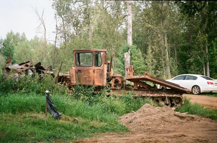 Filmcamera Russia Buldozer