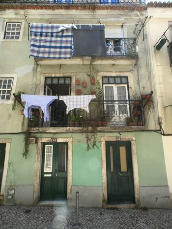 Architecture Balcony Building Exterior Built Structure City Day Door House Laundry No People Old Outdoors Residential Building Travel Travel Destinations Window EyeEmNewHere Neighborhood Map