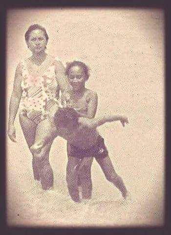 "Te Amo Mamis...Leblon70""s MãeTeAmo MÃE♕ Mother & Daughter Retrophoto Lovemoment Lovemommy Lovemom"