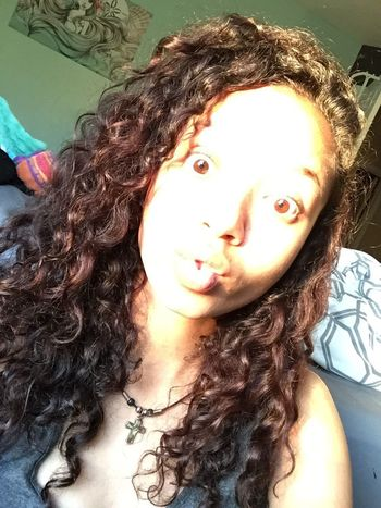 No Filter Pretty Brown Eyes Curly Hair Curls Mixed Puerto Rican Blackandwhite Sun Window Selfie ✌ Weird Face Check This Out Hanging Out Hi! That's Me Hello World Crazy