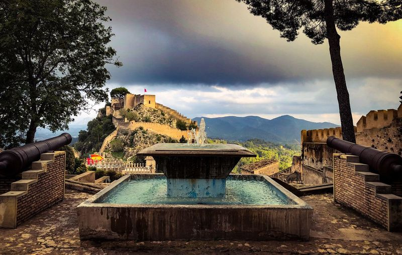 Xativa SPAIN Castle Water Sky Cloud - Sky Tree Nature Plant Architecture Day Built Structure Outdoors Tranquility