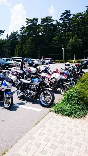 On Your Bike On The Road Relaxing Classic Bike Triumph Bonneville
