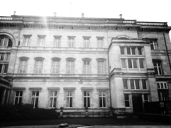 Villa Hügel Krupp Blackandwhite Schwarz & Weiß