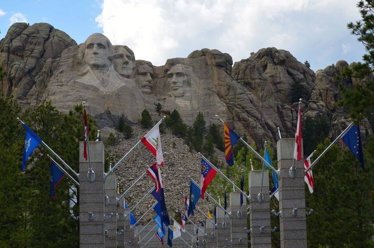 1927-1941 Abraham Lincoln Adventure Beauty Black Hills Democracy Flag Free George Washington Granite Faces Heritage History Majestic Mount Rushmore National Memorial No People Outdoors Presidents Scenic View Sculpture South Dakota Theodore ROOSEVELT Thomas Jefferson Traveling United States Presidents