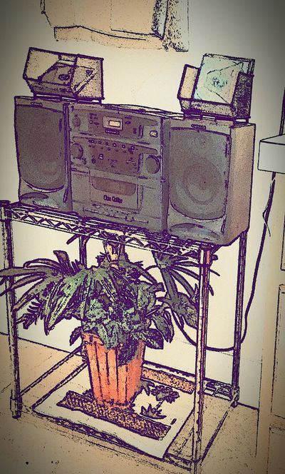 Remember these? Boombox low tech FTW. Check This Out Low Tech 80's Style... First Eyeem Photo