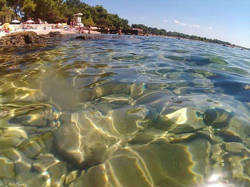 Sea Water Nature Travel Destinations No People Day Beauty In Nature Adriatic Sea Adriatico Mare Scogli Italia