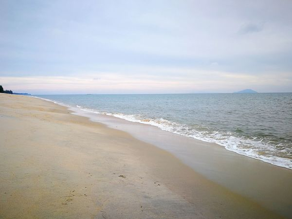 Beach Sand Sea Water Landscape Tranquility Vacations Nature Sunny Tranquil Scene Horizon Over Water Beauty In Nature Travel Destinations Dramatic Sky Sun Scenics Sky Cloud - Sky Low Tide Tourism Kuala Terengganu Perspective View Malaysia EyeEmNewHere Sommergefühle Been There.