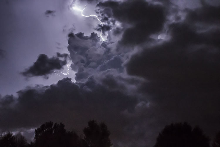 Beauty In Nature Cloud Cloud - Sky Cloudscape Cloudy Dramatic Sky Lightning Lightning Flash In Sky Lightning Storm Lightningphotography Low Angle View Majestic Nature No People Outdoors Ribo Scenics Sky Tranquil Scene Tranquility Tree Weather