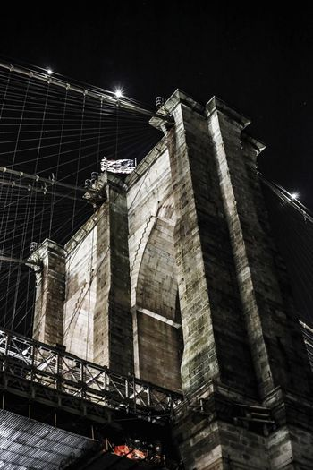 Architecture Low Angle View Built Structure New York Skyscrapers New York ❤ Newyorkcity Newyorknewyork Brooklyn Bridge Park Brooklyn Brooklyn Bridge / New York Brooklyn Bridge  Brooklyn Nyc Brooklyn Ny