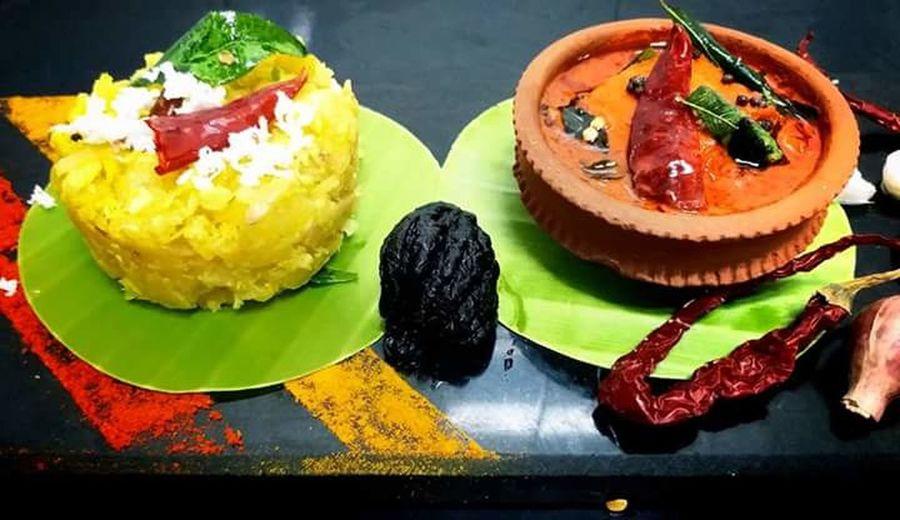 Kerala Vishu dishes Kerala God's Own Country Fisheye Kerala Vishu Special Kerala Food Spicy Malabar Fish Curry