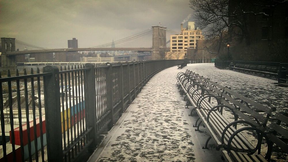 The Promenade is hands down the most romantic date spot in all of NYC, nuff said. - Darius aka abrooklynsoul NYC Enjoying Life In Brooklyn Wintertime