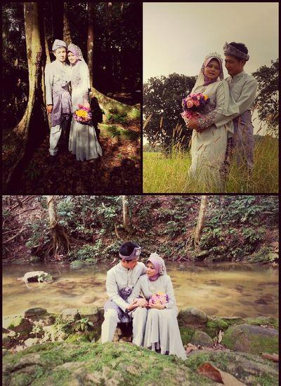 Tiada yang terlihat lebih indah oleh dua orang yang menjalinkan cinta selain dengan perkahwinan. (HR Ibnu Majah, Hakim dari Ibnu Abbas) Love Smile Kiss Photoshoot Outdoors Wedding Photos Just Married