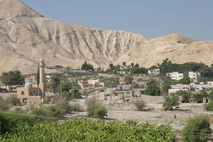 City of Jericho, Israel Archaeology Biblical  Canyon Cliff Desert Historical Home Israel Jericho Judea Middle East Mountain Nature Palestine Palm Tree Rock Ruin Sand Sandstone Stone Valley Wilderness
