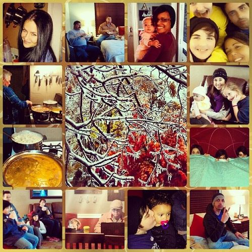 Family+Movies+games+lots of eating and sleeping = great weekend! Dallasicestorm2013 Nopower3days +