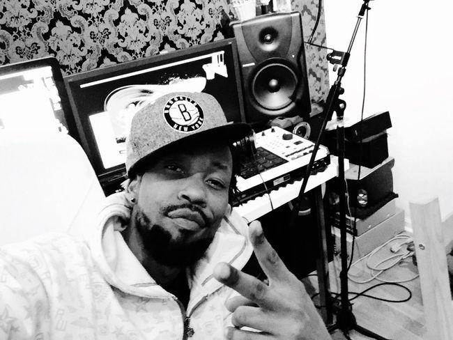 Studio Making Music HipHop