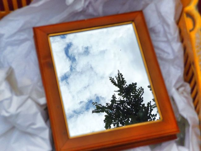 Another one. Mirror Mirror Reflection Fleamarket Sky Tree Vintage Collection Collectable Items Glitch Items For Sale Live Love Shop Close-up Full Frame Merchandise Old But Gold Arrangement Day Perspectives Historical Place Outdoors Reflection Streetphotography