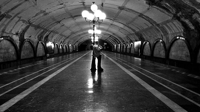 Notes From The Underground Black And White Architecture Metro Station