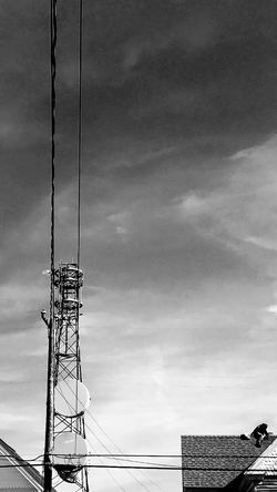 Sky Connection Low Angle View Outdoors Technology Electricity Pylon Antenna - Aerial Mobile Conversations