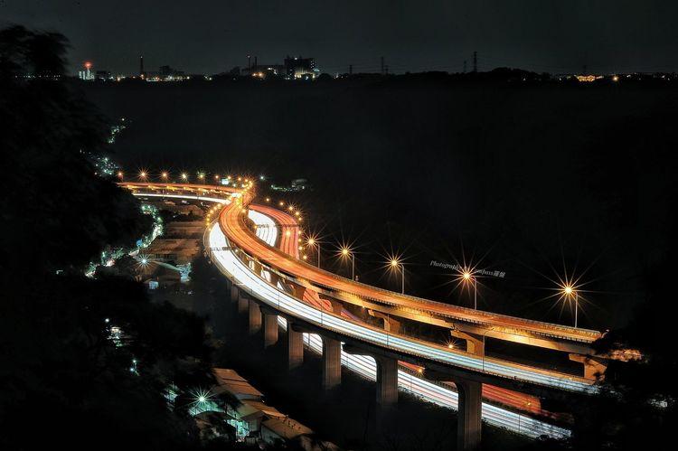 五楊高架 林口五楊高架 Taiwan Enjoying Life Earth In Taiwan Word The View And The Spirit Of Taiwan 台灣景 台灣情 New Taipei City Night Travel Destinations 林口